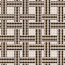 Decor Geometric | Hemp Brown 10x10 | Glas Mosaike | Mosaico+