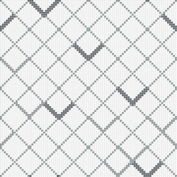 Decor Geometric | Platy Sign White 10x10 | Mosaici | Mosaico+