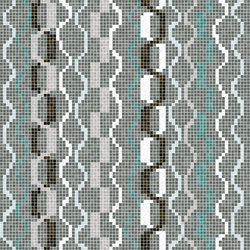 Amadi Blue | Glass mosaics | Mosaico+