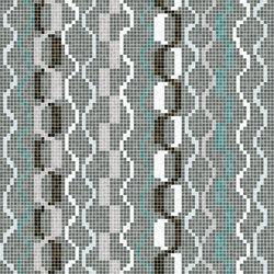 Decor Geometric | Amadi Blue 15x15 | Mosaicos de vidrio | Mosaico+