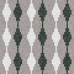 Decor Geometric | Diamond Smoke 15x15 | Mosaïques | Mosaico+
