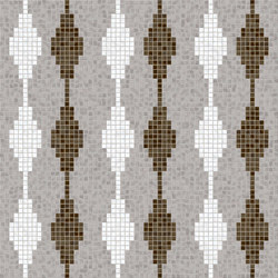 Decor Geometric | Diamond Taupe 15x15 | Mosaici | Mosaico+