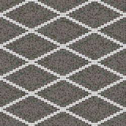 Decor Geometric | Grid Grey 15x15 | Mosaïques | Mosaico+