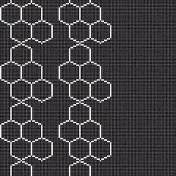 Decor Geometric | Hexagon Black 15x15 | Mosaicos de vidrio | Mosaico+