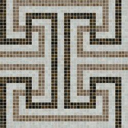 Labyrinth Grey | Mosaïques verre | Mosaico+