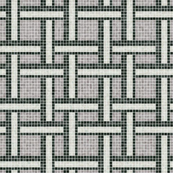 Decor Geometric | Link Grey 15x15 | Mosaïques | Mosaico+