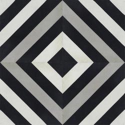 Contemporary | Ligne Brisee | Dalles de béton | Tango Tile