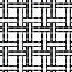 Decor Geometric | Link White 15x15 | Mosaïques | Mosaico+