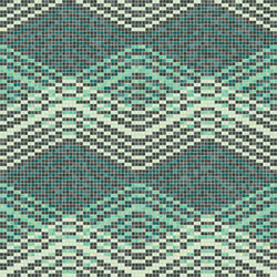 Decor Geometric | Mellow Smoke 15x15 | Mosaïques | Mosaico+