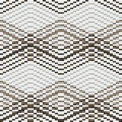 Decor Geometric | Mellow Taupe 15x15 | Mosaïques | Mosaico+