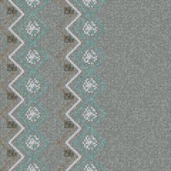 Decor Geometric | Seamless Smoke 15x15 | Mosaïques | Mosaico+