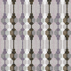 Decor Geometric | String Lilac 15x15 | Mosaïques | Mosaico+