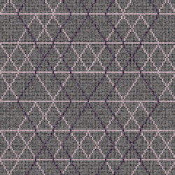 Decor Geometric | Wollen Lilac 15x15 | Mosaïques | Mosaico+