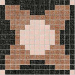 Decor Geometric | Squares Pink A 20x20 | Glass mosaics | Mosaico+