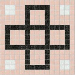 Decor Geometric | Squares Pink F 20x20 | Mosaicos de vidrio | Mosaico+