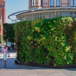 Outdoor Vertical Garden | Phumphuset Helsingborg | Fassadenbegrünung | Greenworks
