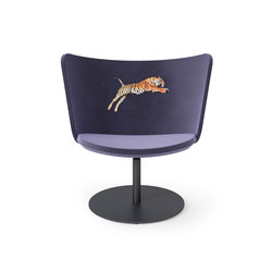 Embroidery Chair Tiger | Sillones lounge | Cappellini