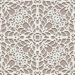 Decor Romantic | Doily Beige 10x10 | Mosaïques | Mosaico+