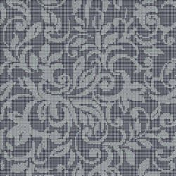 Decor Romantic | Tapestry Grey 10x10 | Glass mosaics | Mosaico+