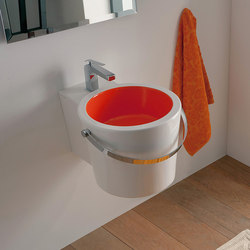 Bucket | 40R | Wash basins | Scarabeo Ceramiche