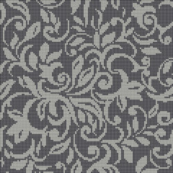 Decor Romantic | Tapestry Silver 10x10 | Mosaïques | Mosaico+