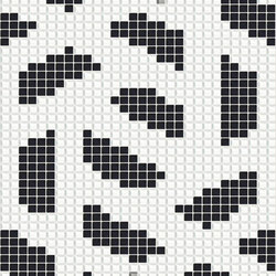 Twine Black | Glass mosaics | Mosaico+