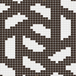 Decor Stylish Transitions | Twine Brown 10x10 | Mosaïques verre | Mosaico+
