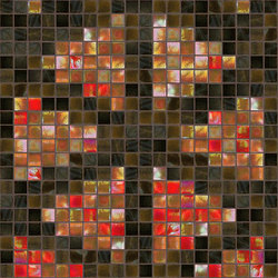 Decor Stylish Transitions | Shine Through Red 15x15 | Mosaïques | Mosaico+