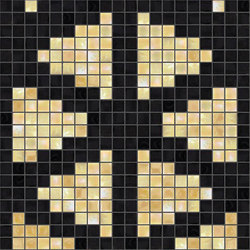 Decor Stylish Transitions | Shine Through Yellow 15x15 | Mosaïques | Mosaico+