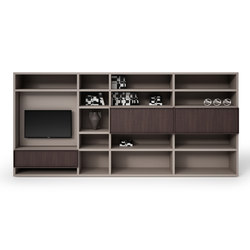 Sistema | Wall storage systems | Cappellini