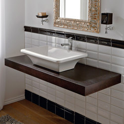 Butterfly | 60x42 | Wash basins | Scarabeo Ceramiche