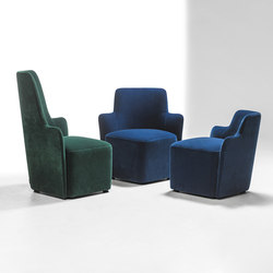 Velour | Lounge chairs | La Cividina
