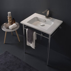Etra | 61,5 x 47 | Wash basins | Scarabeo Ceramiche