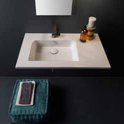 Etra | 82,5 x 47 | Wash basins | Scarabeo Ceramiche
