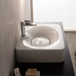 Fuji | 50R | Wash basins | Scarabeo Ceramiche