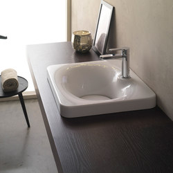 Fuji | 50 | Wash basins | Scarabeo Ceramiche