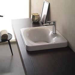 Fuji | 50 | Lavabi / Lavandini | Scarabeo Ceramiche