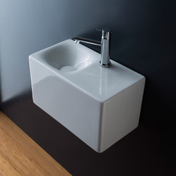 Cube | 42 H24 | Wash basins | Scarabeo Ceramiche