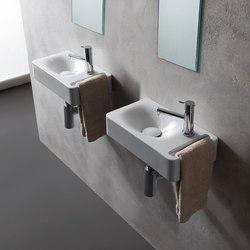 Hung | 40 | Wash basins | Scarabeo Ceramiche