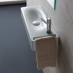 Hung | 50 | Wash basins | Scarabeo Ceramiche