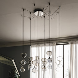 Sablier | Suspended lights | Cattelan Italia