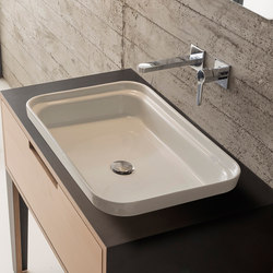 Mizu | 70 | Wash basins | Scarabeo Ceramiche