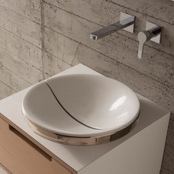 Mizu | 45 + Cover | Wash basins | Scarabeo Ceramiche