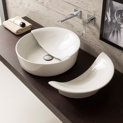 Mizu | Coppia Cover | Wash basins | Scarabeo Ceramiche
