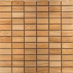 Legno | Rovere R | Mosaici legno | Mosaico+