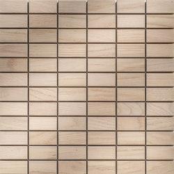 Legno | Rovere Sbiancato R | Mosaïques en bois | Mosaico+