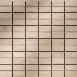 Legno | Rovere Sbiancato R | Wood mosaics | Mosaico+