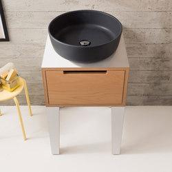 Mizu | Console 45 | Vanity units | Scarabeo Ceramiche