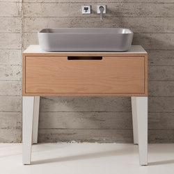 Mizu | Consolle 70 | Mobili lavabo | Scarabeo Ceramiche