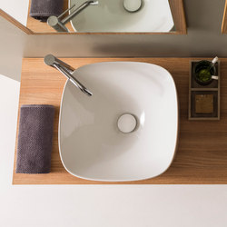 Moon | 42 H18 | Wash basins | Scarabeo Ceramiche